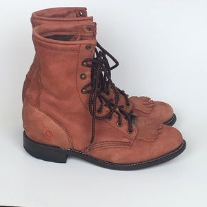 Double H Lacer Western Boots